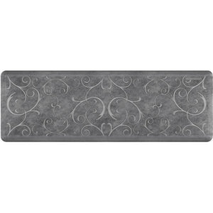 Wellnessmats Bella Estates Shades of Silver EB62WMRBNGRY,Slate