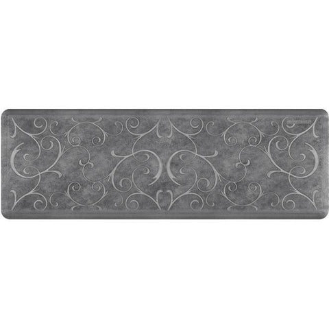 Image of Wellnessmats Bella Estates Shades of Silver EB62WMRBNGRY,Slate