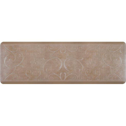 Image of Wellnessmats Bella Estates Shades of Silver EB62WMRBNTAN,Sandstone