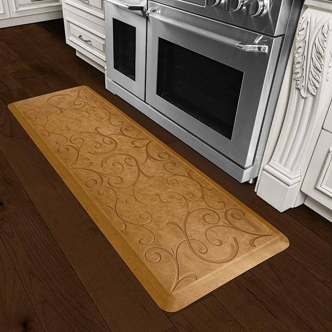 Wellnessmats Bella Estates Shades ofGold EB62WMRCL,CopperLeaf