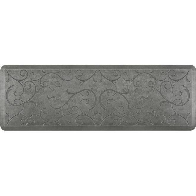 Wellnessmats Bella Estates Shades of Silver EB62WMRSL,SilverLeaf