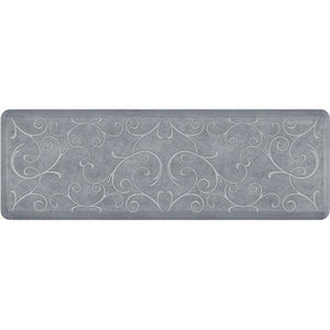 Wellnessmats Bella Estates Shades of White EB62WMRWGRY,BeachGlass