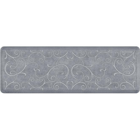 Image of Wellnessmats Bella Estates Shades of White EB62WMRWGRY,BeachGlass