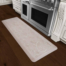 Wellnessmats Bella Estates Shades of White EB62WMRWTAN,Sand Dollar
