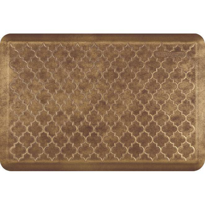 Wellnessmats Trellis Estates- Shades of Gold ET32WMRBGBUR, Rose Gold