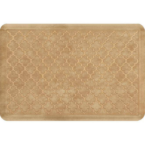 Image of Wellnessmats Trellis Estates- Shades of Gold ET32WMRBGTAN,Aztec Gold
