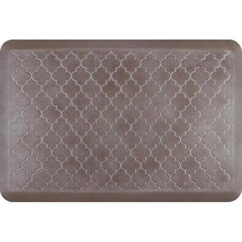 Image of Wellnessmats Trellis Estates Shades of Silver ET32WMRBNBRN,Quartz