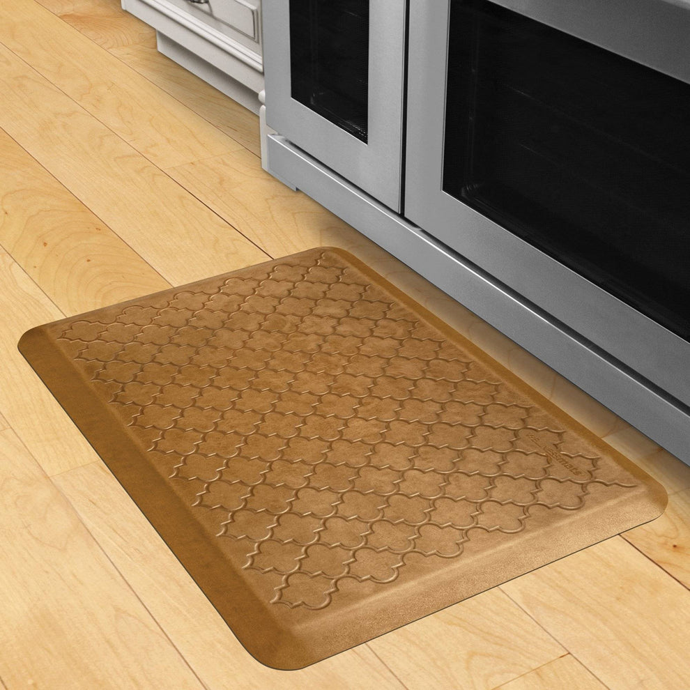 Wellnessmats Trellis Estates- Shades of Gold ET32WMRCL,Copper leaf