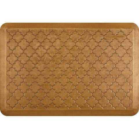Image of Wellnessmats Trellis Estates- Shades of Gold ET32WMRCL,Copper leaf