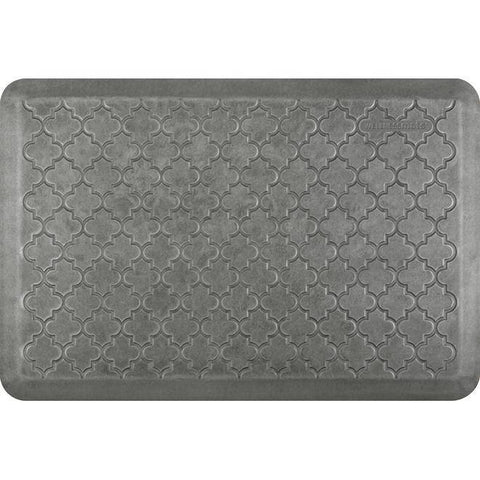 Image of Wellnessmats Trellis Estates Shades of Silver ET32WMRSL,SilverLeaf