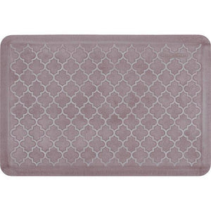 Wellnessmats Trellis Estates Shades of White ET32WMRWBUR,SeaShell