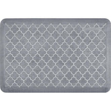 Wellnessmats Trellis Estates Shades of White ET32WMRWGRY,BeachGlass