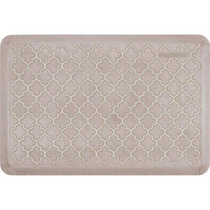 Wellnessmats Trellis Estates Shades of White ET32WMRWTAN,SandDollar