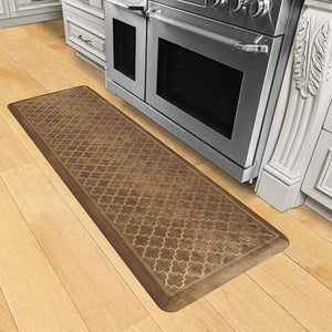 Wellnessmats Trellis Estates Shades of Gold ET62WMRBGBUR,Rose Gold