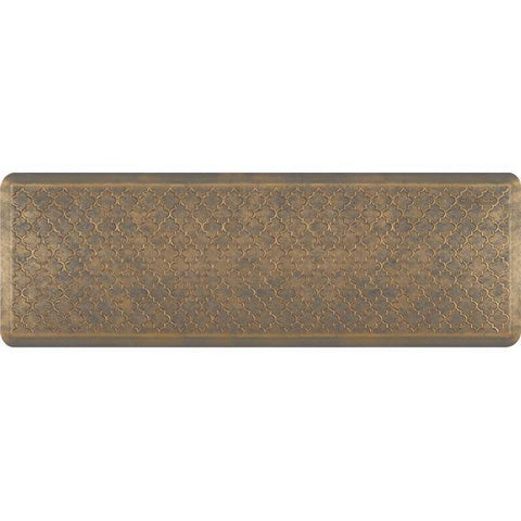 Wellnessmats Trellis Estates Shades of Gold ET62WMRBGGRY,Antique Gold