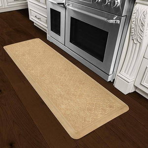 Wellnessmats Trellis Estates Shades of Gold ET62WMRBGTAN,Aztec Gold