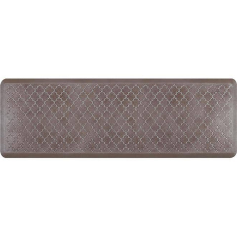 Image of Wellnessmats Trellis Estates Shades of Silver ET62WMRBNBRN,Quartz