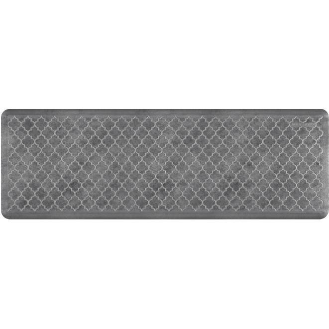 Wellnessmats Trellis EstatesShades of Silver ET62WMRBNGRY,Slate