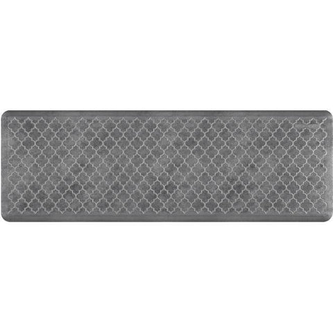 Image of Wellnessmats Trellis EstatesShades of Silver ET62WMRBNGRY,Slate