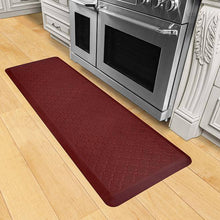 Wellnessmats Trellis Estates Shades of Red ET62WMRRBRN,Coral