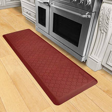 Wellnessmats Trellis Estates Shades of Red ET62WMRRTAN,Sunset
