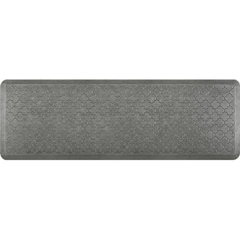 Image of Wellnessmats Trellis Estates Shades of Silver ET62WMRSL,SilverLeaf