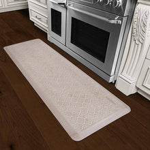 Wellnessmats Trellis Estates Shades of White ET62WMRWTAN,SandDollar
