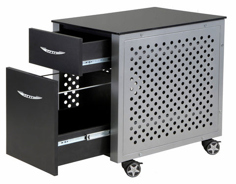Image of Pitstop Furniture File Cabinet Black FC230B