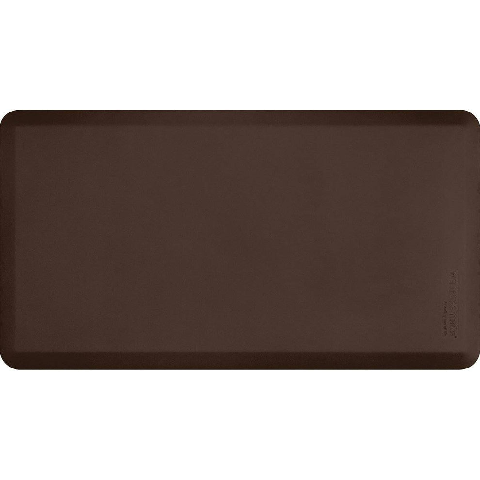 "Wellnessmats Fitness Collection 48""X26""5/8"" FIT4WMRBRN, Brown"