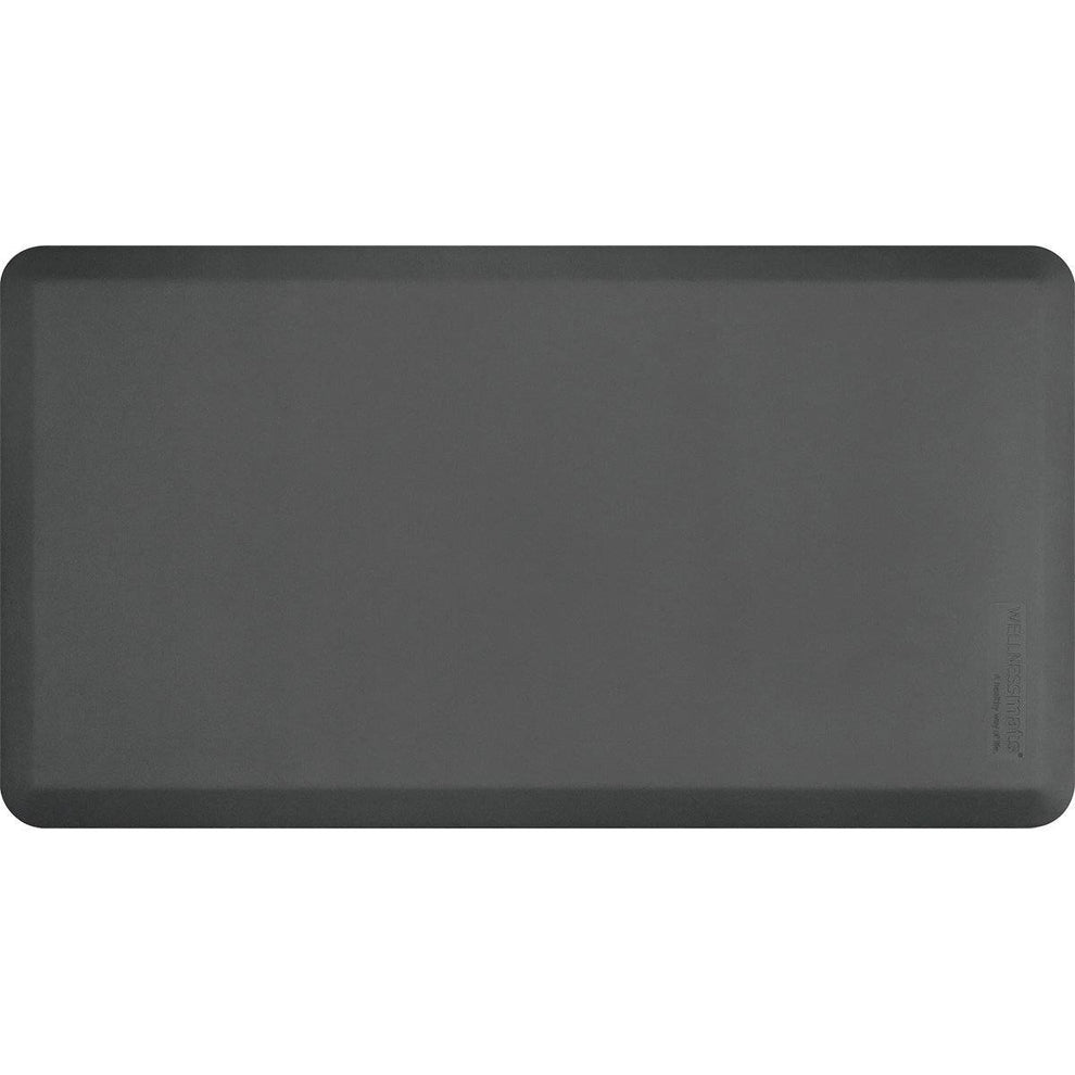 "Wellnessmats Fitness Collection 48""X26""5/8"" FIT4WMRGRY, Gray"