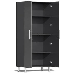 Ulti-MATE Garage 2.0 3-Pc Tall Cabinet Kit Grey Metallic UG22630G