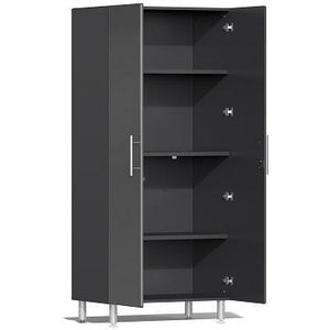 Ulti-MATE Garage 2.0 Ultimate 2-Door Tall Cabinet Grey Metallic
