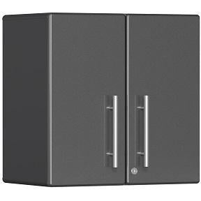 Ulti-MATE Garage 2.0 Ultimate 2-Door Wall Cabinet Grey Metallic