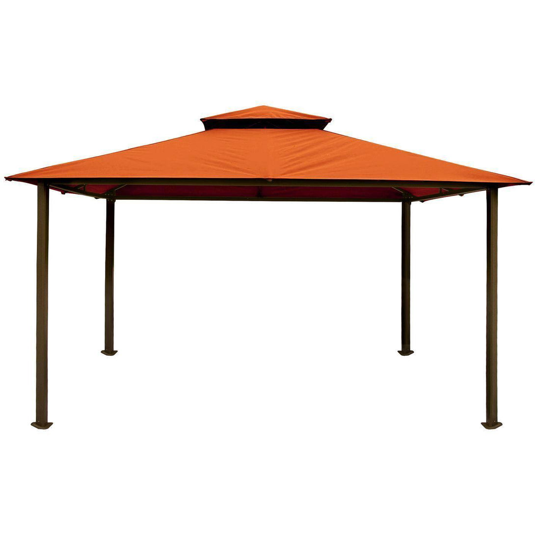 Paragon Outdoor Kingsbury Gazebo with Rust Top GZ584NR