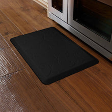 WellnessMats Bella Motif 3' X 2' MB32WMRBLK, Black