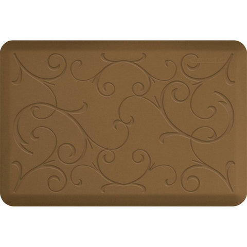WellnessMats Bella Motif 3' X 2' MB32WMRTAN, Tan