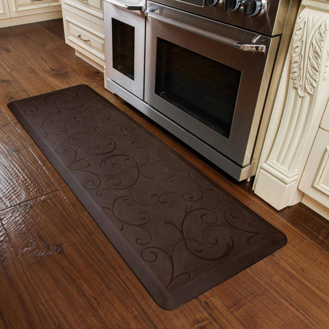 WellnessMats Bella Antique 6'X2' MB62WMRDB, Antique Dark
