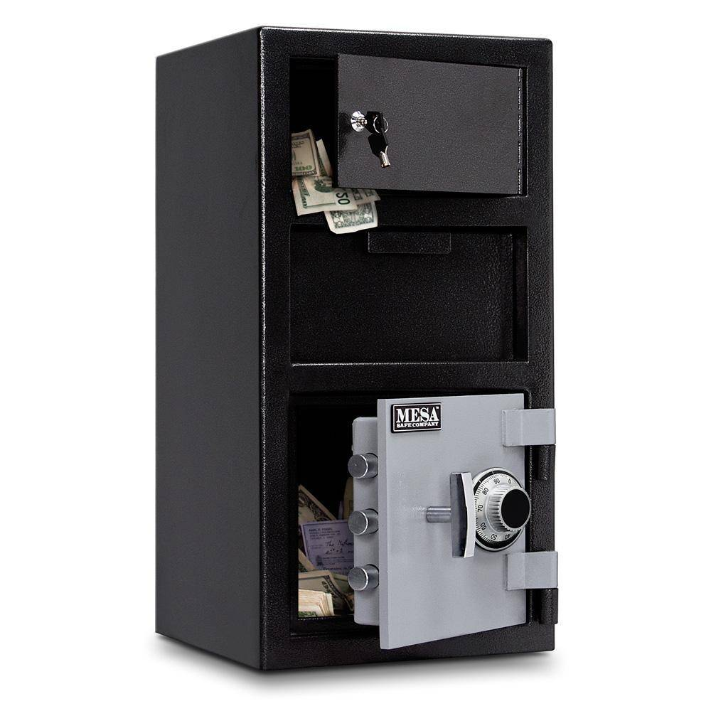 MESA Safes Depository Safe 0.8 cu.ft. Combination Lock,Exterior Locker