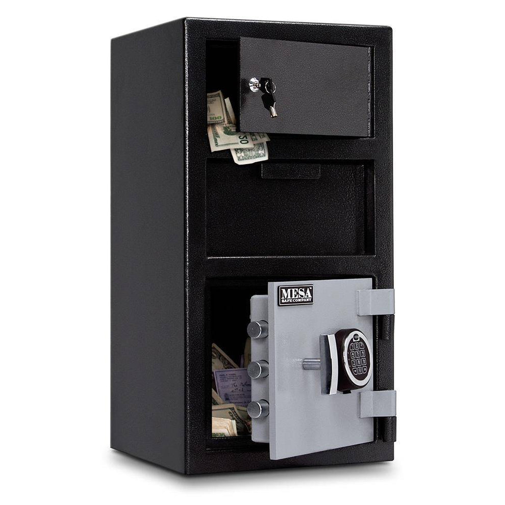 MESA Safes Depository Safe 0.8 cu.ft. Electronic Lock,Exterior Lock