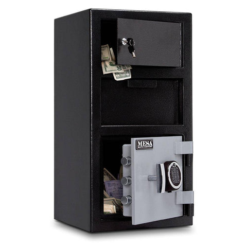 Image of MESA Safes Depository Safe 0.8 cu.ft. Electronic Lock,Exterior Lock