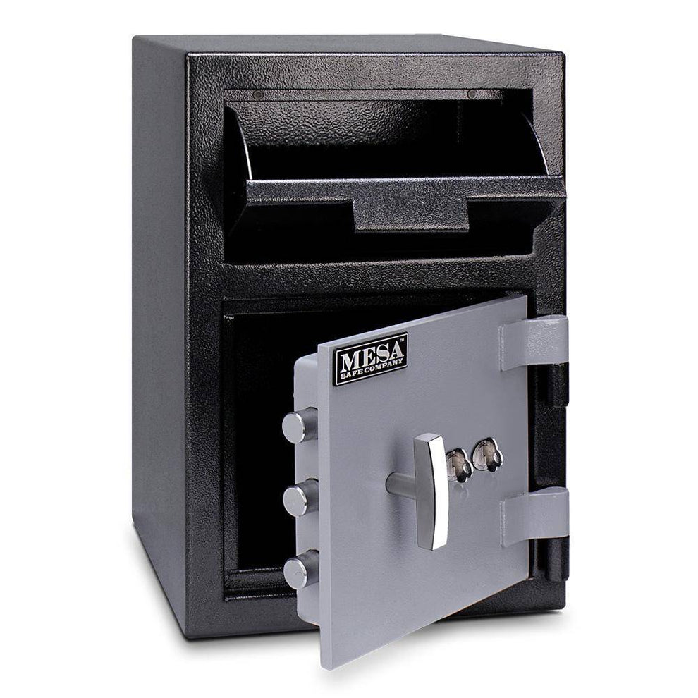 MESA Safes Depository Safe 0.8 cu. ft Dual Key Lock MFL2014K
