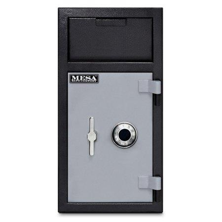 MESA Safes Depository Safe w/ Combination Lock Black-Grey MFL2714CILK