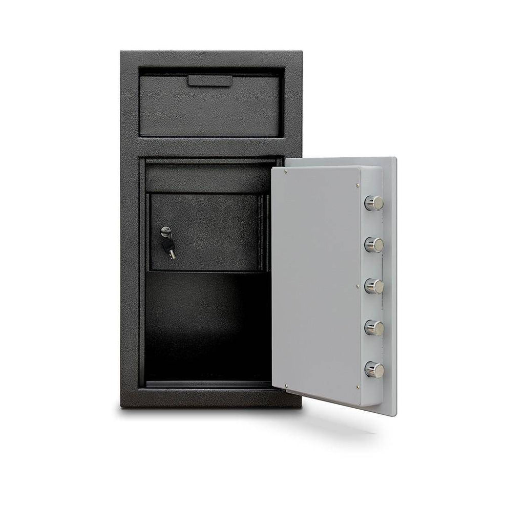 MESA Safes Depository Safe w/ Electronic Lock Black-Grey MFL2714EILK