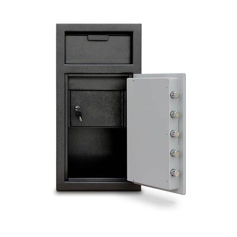 Image of MESA Safes Depository Safe w/ Electronic Lock Black-Grey MFL2714EILK