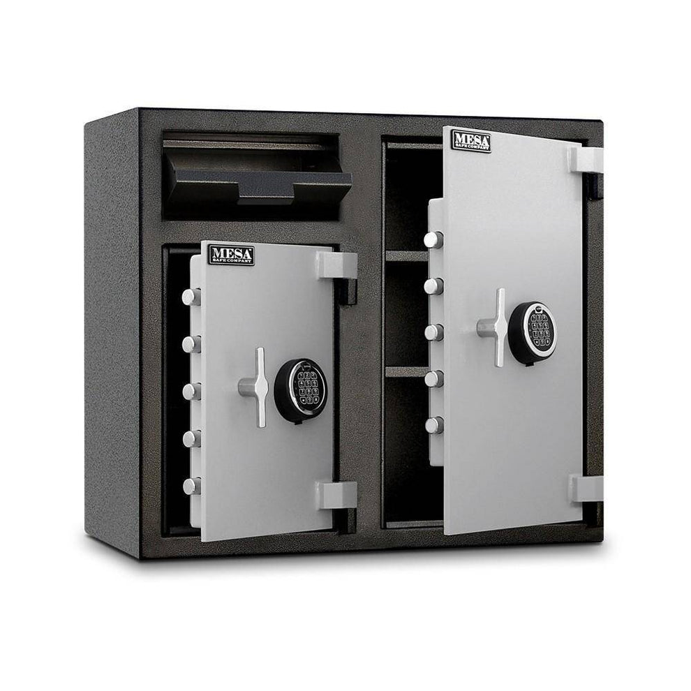 MESA Safes Depository Safe 6.7 cu.ft. Dual Door,Electronic Lock