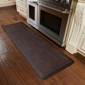 WellnessMats Linen Antique Mat Collection 6' X 2' X 3/4