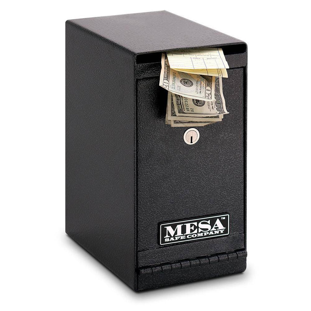 MESA Safes Under Counter Depository Safe 0.2 cu.ft. MUC1K