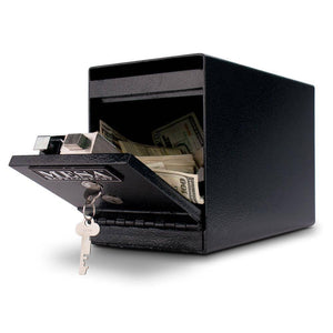 MESA Safes Under Counter Depository Safe 0.2 cu. ft. MUC2K