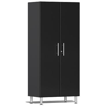 Ulti-MATE Garage 2.0 Ultimate 2-Door Tall Cabinet Black Metallic