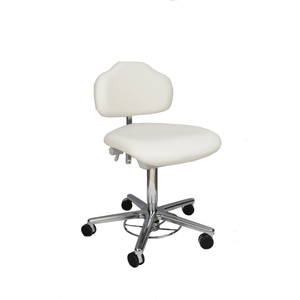 Milagon Stera II Clean Room Chair, WS1320GMP - Garage Tools Storage